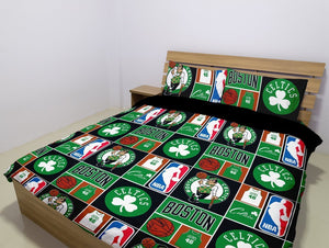 Boston Celtics (2 Styles) - Bedding Set (Duvet Cover & Pillowcases)