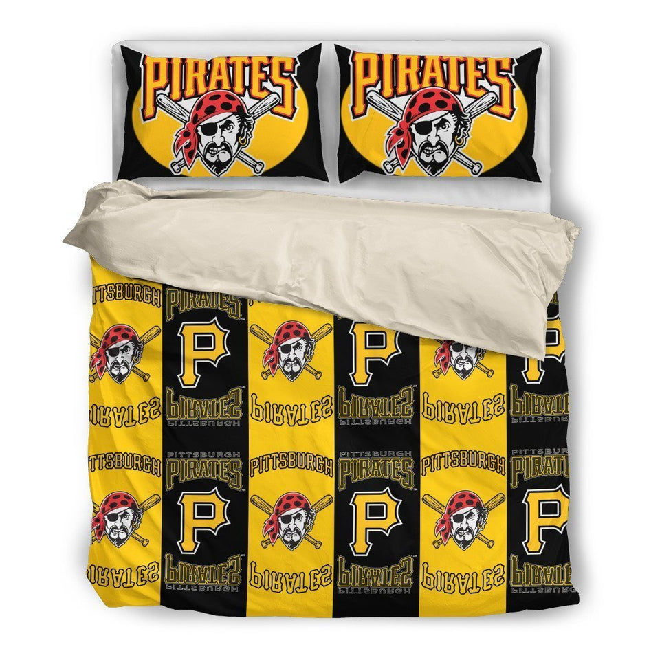 Pittsburgh Pirates (2 Styles) - Bedding Set (Duvet Cover & Pillowcases)
