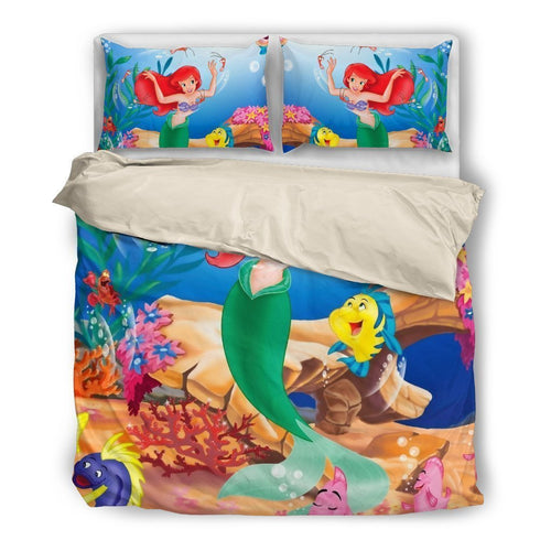 Disney - Mermaid (2 Styles) - Bedding Set (Duvet Cover & Pillowcases)