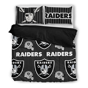Oakland Raiders - Bedding Set (Duvet Cover & Pillowcases)
