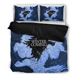 Game of Thrones - House Stark (2 Styles) - Bedding Set (Duvet Cover & Pillowcases)
