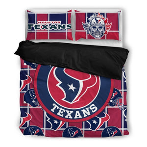 Houston Texans (2 Styles) - Bedding Set (Duvet Cover & Pillowcases)
