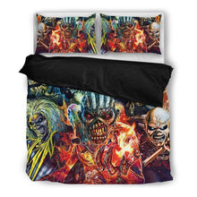 Load image into Gallery viewer, Iron Maiden - Bedding Set (Duvet Cover & Pillowcases)
