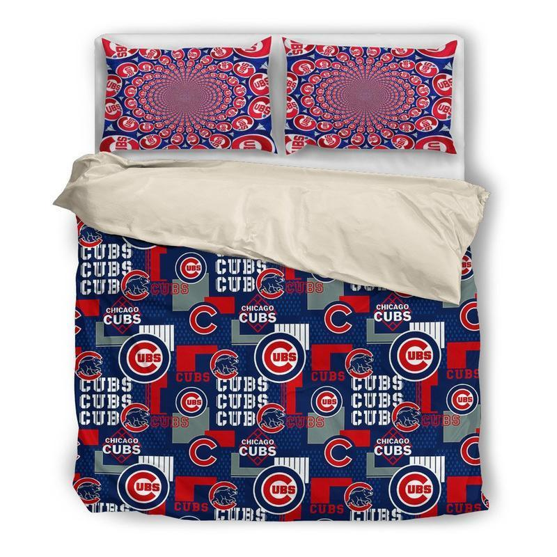 Chicago Cubs (2 Styles) - Bedding Set (Duvet Cover & Pillowcases)
