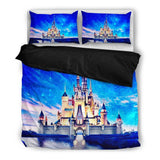 Disney Castle (2 Styles) – Bedding Set (Duvet Cover & Pillowcases)