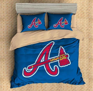 3D CUSTOMIZE ATLANTA BRAVES BEDDING SET DUVET COVER