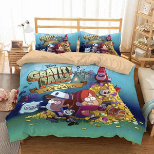 3D CUSTOMIZE GRAVITY FALLS BEDDING SET DUVET COVER