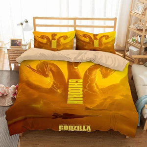 3D CUSTOMIZE GODZILLA KING OF THE MONSTERS DUVET COVER