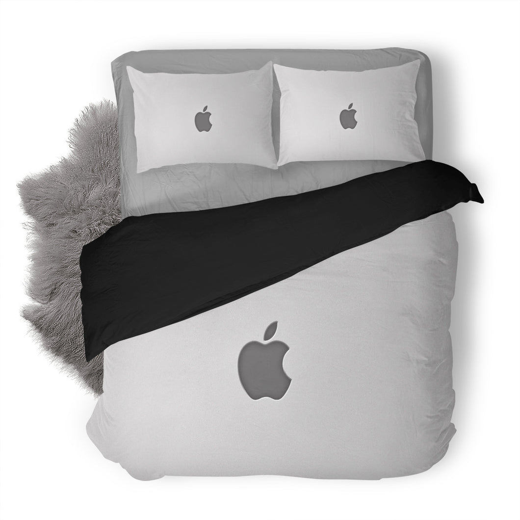Apple Logo Custom Bedding Set Duvet Cover