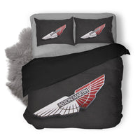 Aston Martin Logo Custom Bedding Set Duvet Cover