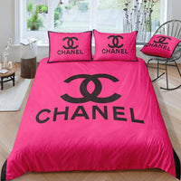 CC2 Coco Chanel Custom Bedding Set (Duvet Cover & Pillowcases)