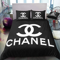 CC3 Coco Chanel Custom Bedding Set (Duvet Cover & Pillowcases)