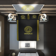 Load image into Gallery viewer, Versace Custom Bedding Set (Duvet Cover & Pillowcases)
