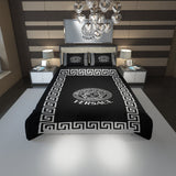 Versace Custom Bedding Set #2(Duvet Cover & Pillowcases)