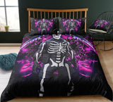 Skull Trooper - Fortnite Gamer - Bedding Set (Duvet Cover & Pillowcases)
