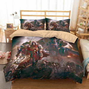 3D CUSTOMIZE WARHAMMER 40,000 DAWN OF WAR BEDDING SET DUVET COVER