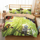 3D CUSTOMIZE THE LEGO NINJAGO BEDDING SET DUVET COVER