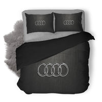 Audi Logo Custom Bedding Set Duvet Cover #2