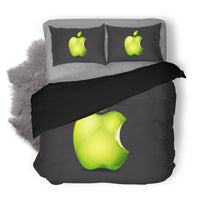 Apple Logo Custom Bedding Set Duvet Cover #1