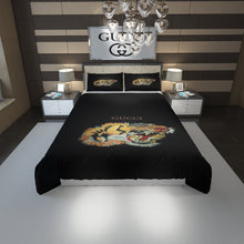 Load image into Gallery viewer, Tiger Gucci Inspired Bedding Set Duvet Cover