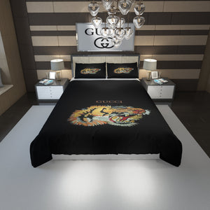 Tiger Gucci Inspired Bedding Set Duvet Cover