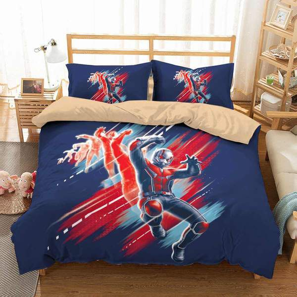 3D Customize Ant-Man and the Wasp Bedding Set Duvet Cover #4