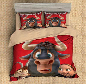3D CUSTOMIZE FERDINAND BEDDING SET DUVET COVER