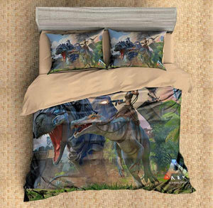 3D CUSTOMIZE ARK SURVIVAL EVOLVED BEDDING SET DUVET COVER