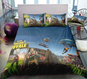Battle Royale - Fortnite Gamer - Bedding Set (Duvet Cover & Pillowcases)