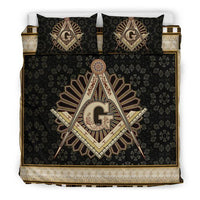 3D Customize Masonic Freemason  Bedding Set Duvet Cover