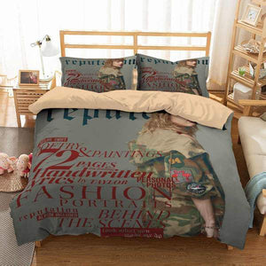 3D CUSTOMIZE TAYLOR SWIFT BEDDING SET DUVET COVER