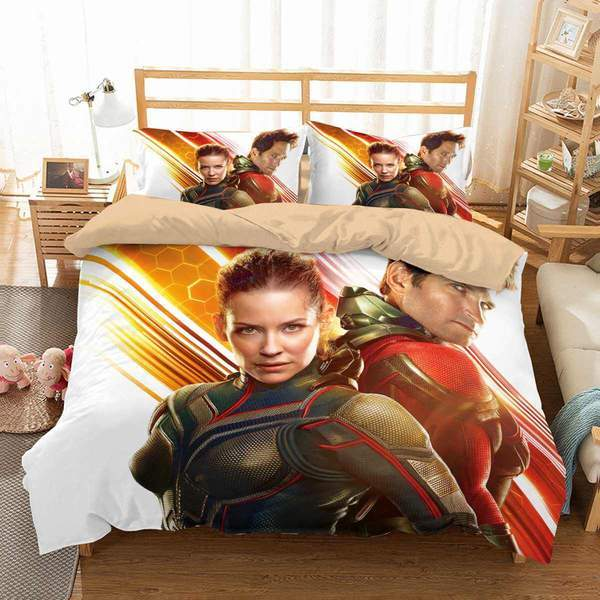3D Customize Ant-Man and the Wasp Bedding Set Duvet Cover #7