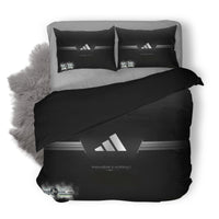 Adidas Logo Custom Bedding Set Duvet Cover #1