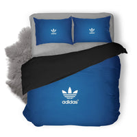 Adidas Logo Custom Bedding Set Duvet Cover #4