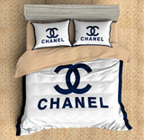 Chanel Inspired Custom Bedding Set Duvet Cover #7