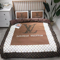 3D Custom Lolouis Vuitton Bedding Set (Duvet Cover & Pillowcases)