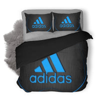 Adidas Logo Custom Bedding Set Duvet Cover #2
