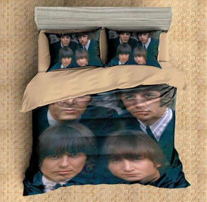 CUSTOM THE BEATLES 3D BEDDING SET DUVET COVER