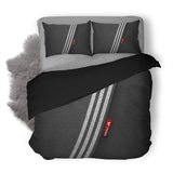 Adidas Logo Custom Bedding Set Duvet Cover #3
