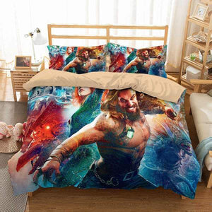 3D Customize Aquaman Bedding Set Duvet Cover