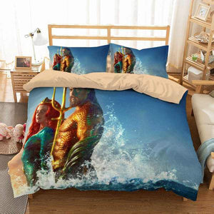 3D Customize Aquaman Bedding Set Duvet Cover #3