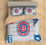 3D Customize Chicago Cubs Bedding Set Duvet Cover