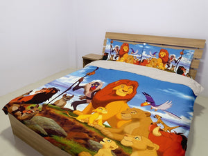DISNEY - The Lion King (2 Styles) - Bedding Set (Duvet Cover & Pillowcases)