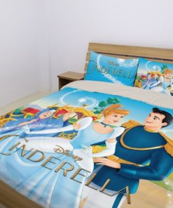 Cinderella  – Bedding Set (Duvet Cover & Pillowcases)