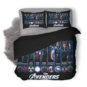 3D Customize  Avenger Bedding Set Duvet Cover