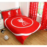 Liverpool Fc Single And Double Duvet Cover Sets Bedroom Bedding