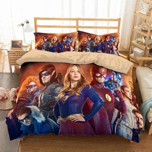 3D Customize Legends of Tomorrow Bedding Set Duvet Cover