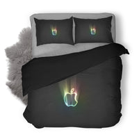 Apple Logo Custom Bedding Set Duvet Cover #4