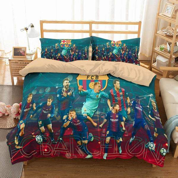 3D Customize FC Barcelona Bedding Set Duvet Cover #2