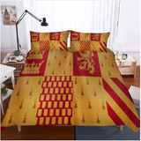 3D Bedding Set Harry Potter Campus Badge Print Duvet Cover Set #1 (5 styles)